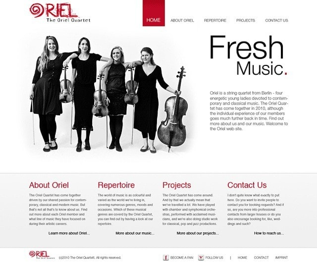 oriel quartett berlin