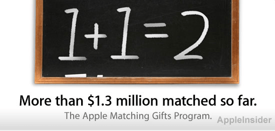 Apple Corporate Matching Program