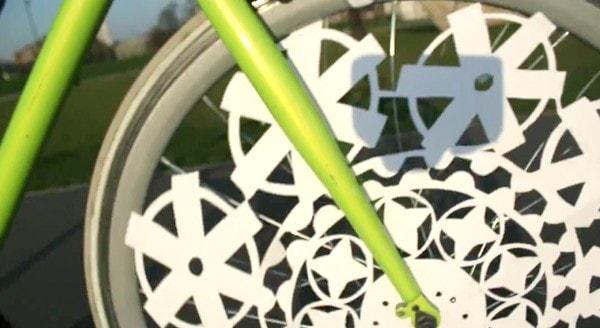 Fahrradspeichen Animation