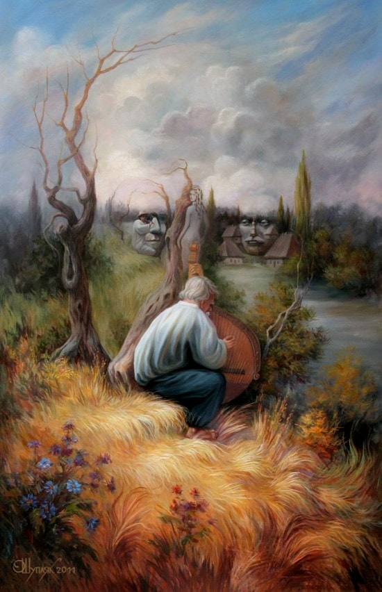 Optical Illusion Paintings