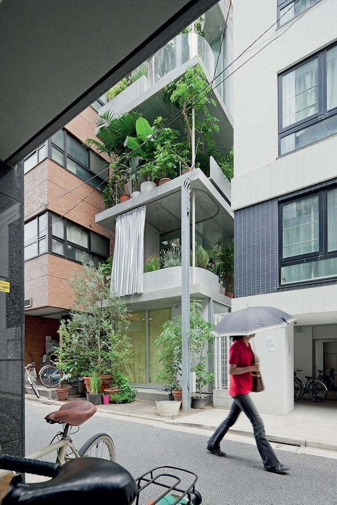 vertical garden house architektur