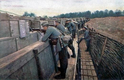 Farbfotos aus dem ersten Weltkrieg
