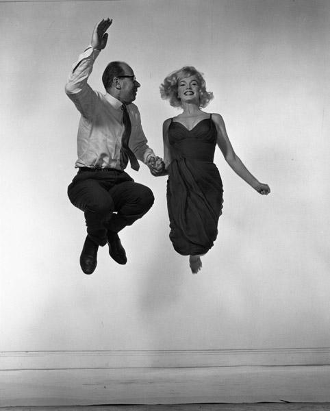 Marilyn Monroe und Philippe Halsman