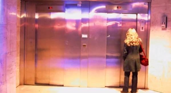elevator prank