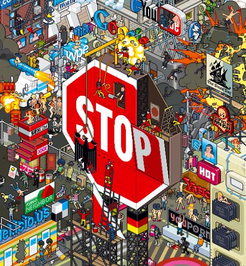 Spiegel Stop von eBoy