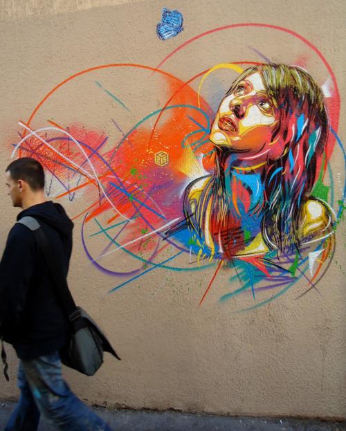 Graffiti Stempelkunst