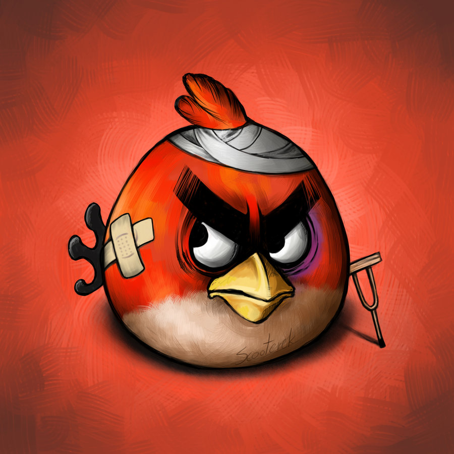 Angry Bird Illustration
