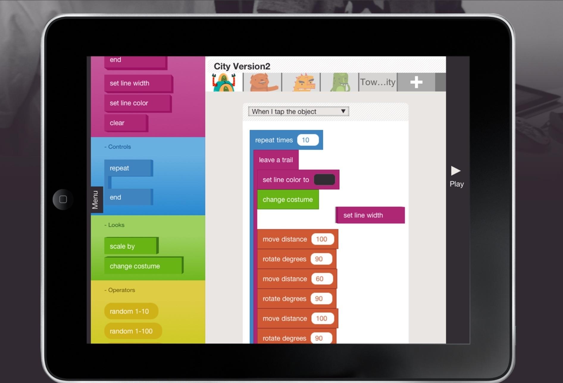 hopscotch programmieren für kinder