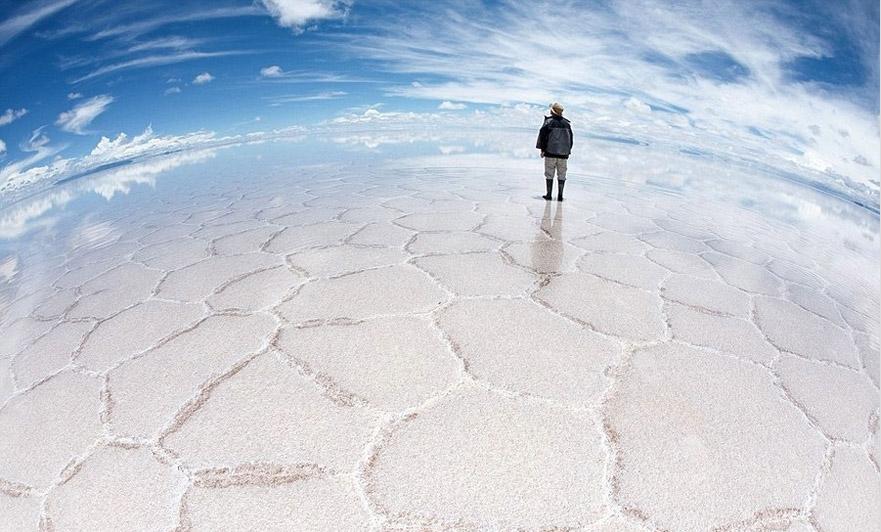 Salar de Uyuni, Bolivien - Bild: dadi360