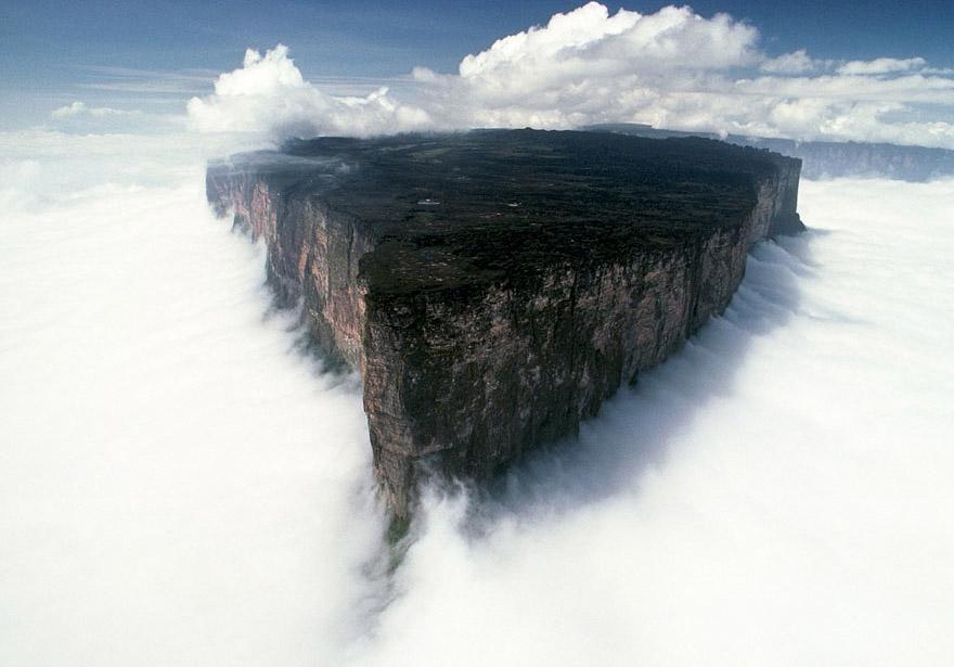 Mount Roraima, Südamerika - Bild: Uwe George