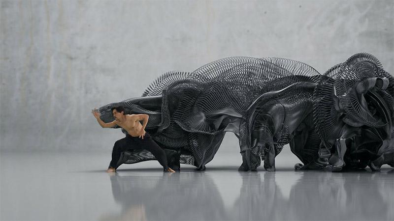 Skulpturen aus Bewegung