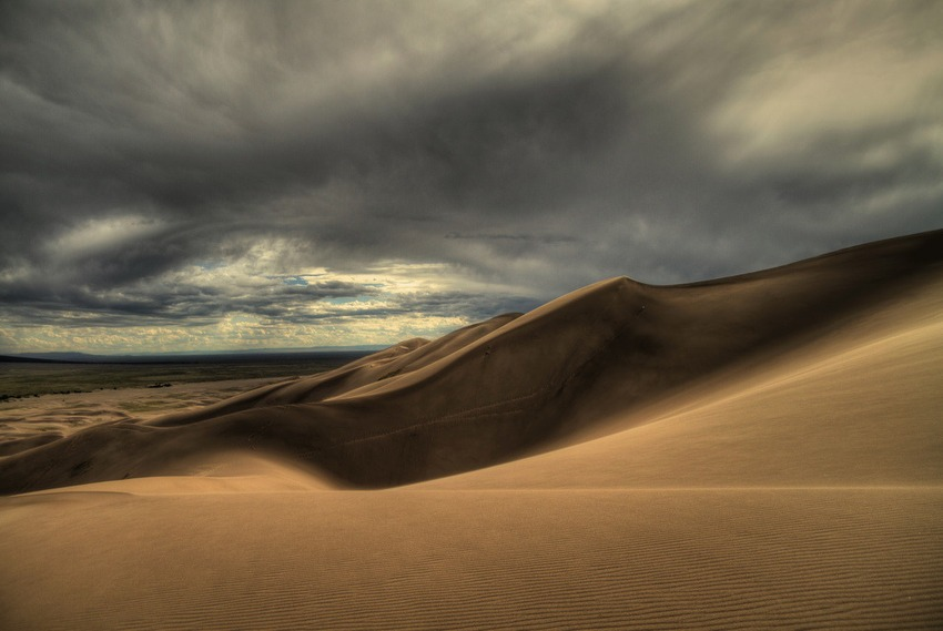 Great Sand Dunes National Park , Colorado, USA (Bild: Zach Dischner)
