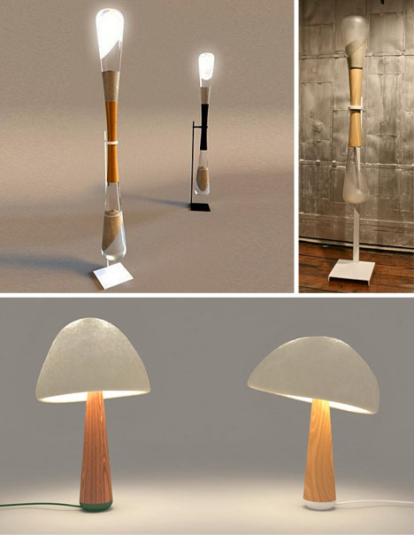 hourglass-and-mushroom-lights