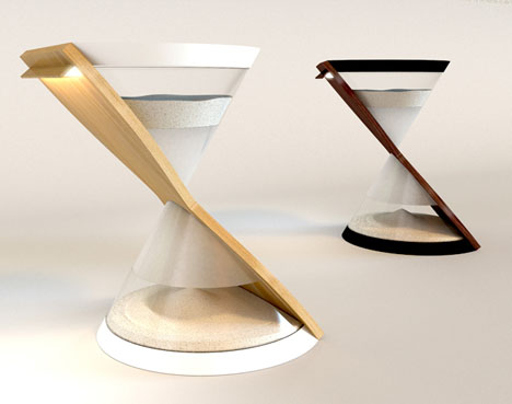 hourglass-table-sized-light