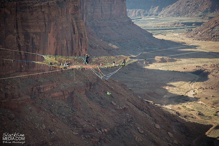 Moab-Monkeys-Hand-Knitted-Net-Above-Void-Mothership-Space-Net-Penthouse