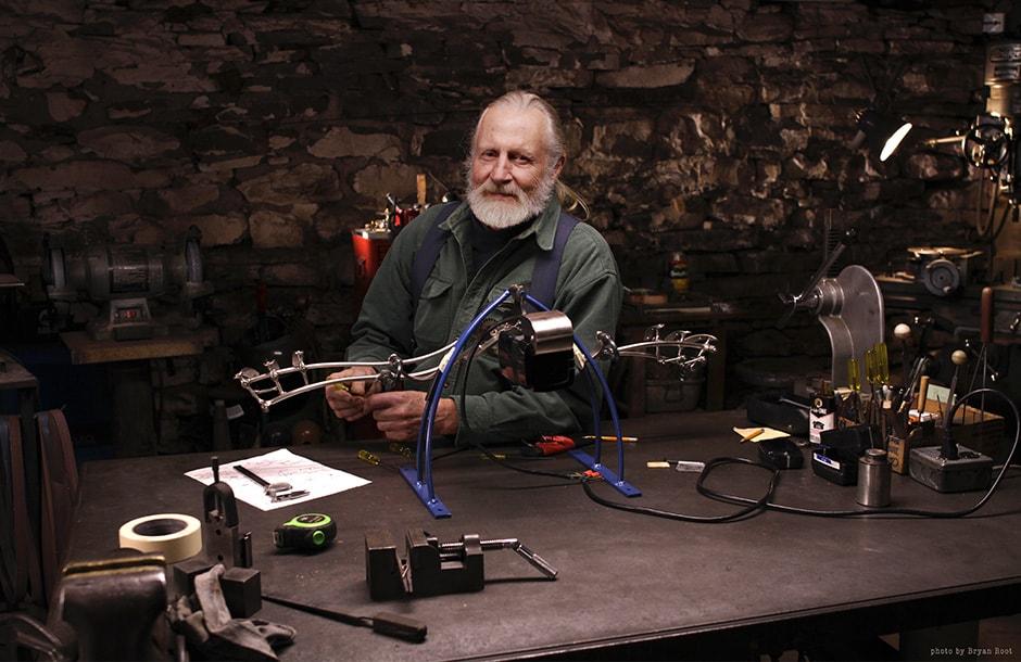 Bob Potts kinetic sculptures