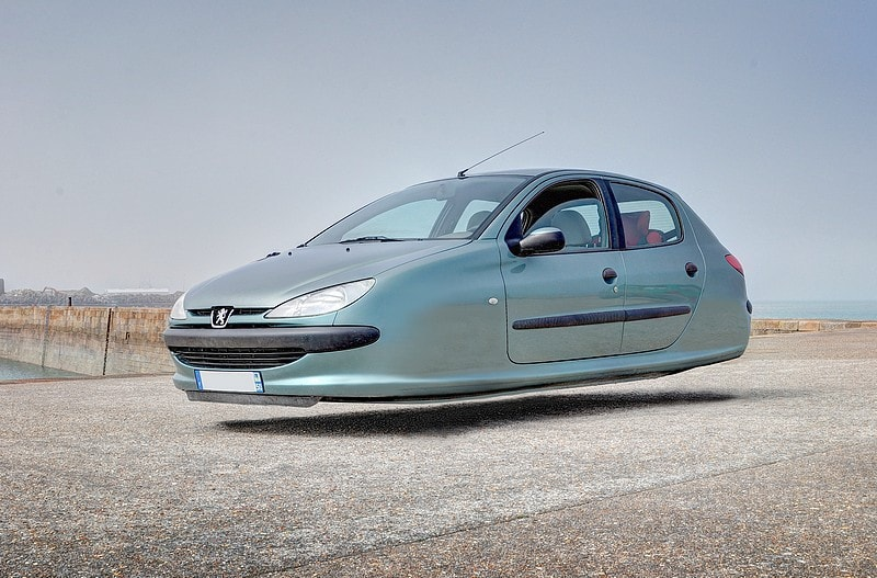 Peugeon Hover Car