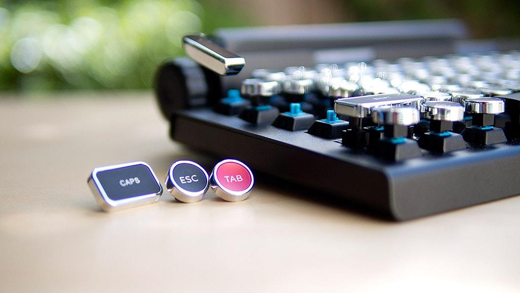 Qwerkywriter Retro Design Tastatur