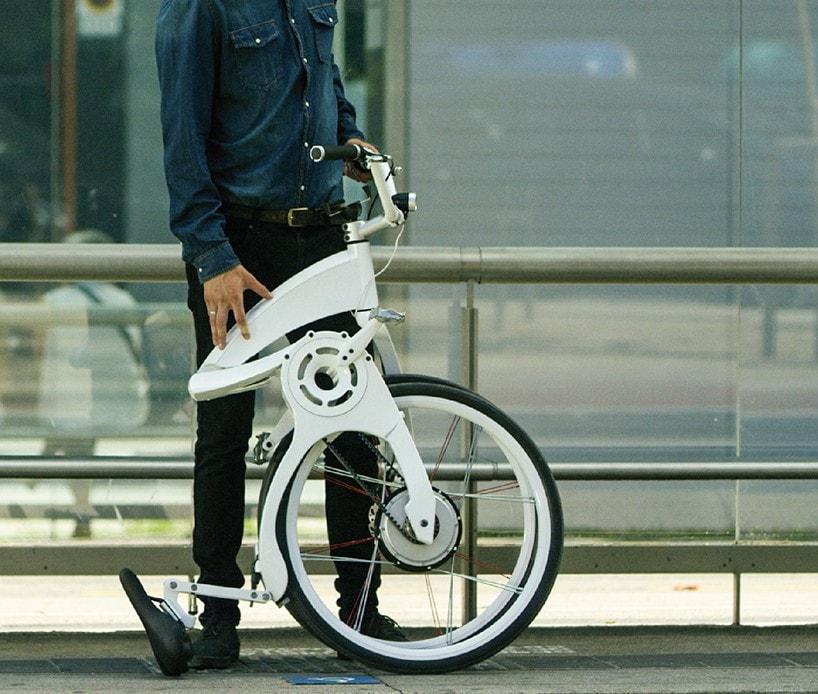 Flybike klapprad design
