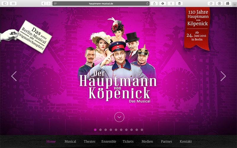 Hauptmann von Köpenick Musical