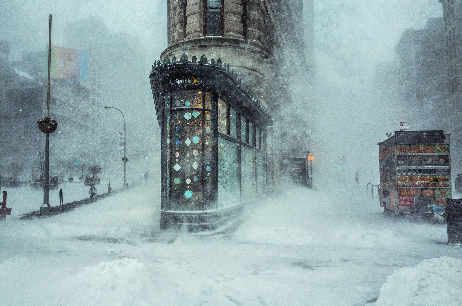 NYC im Wintersturm