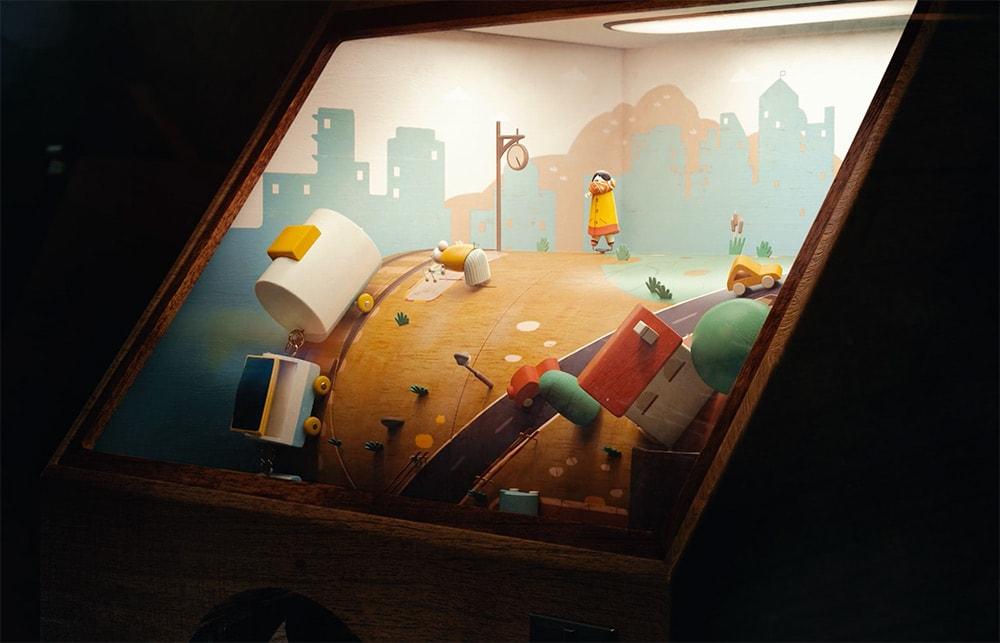 animierte penny arcade