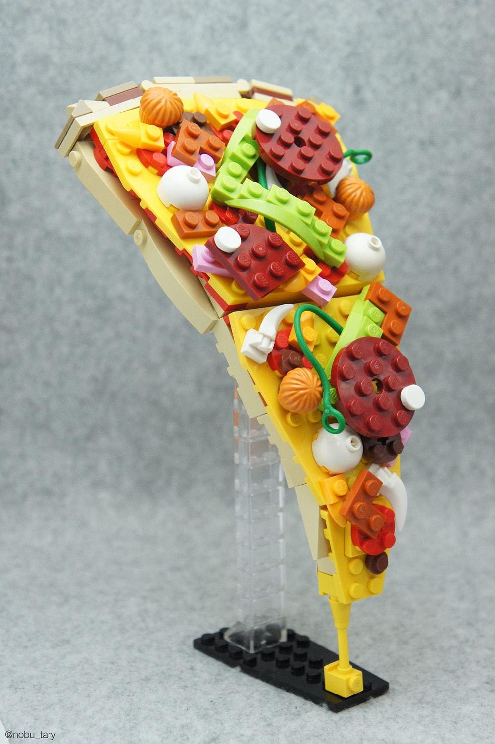 Essen aus Lego-Bausteinen