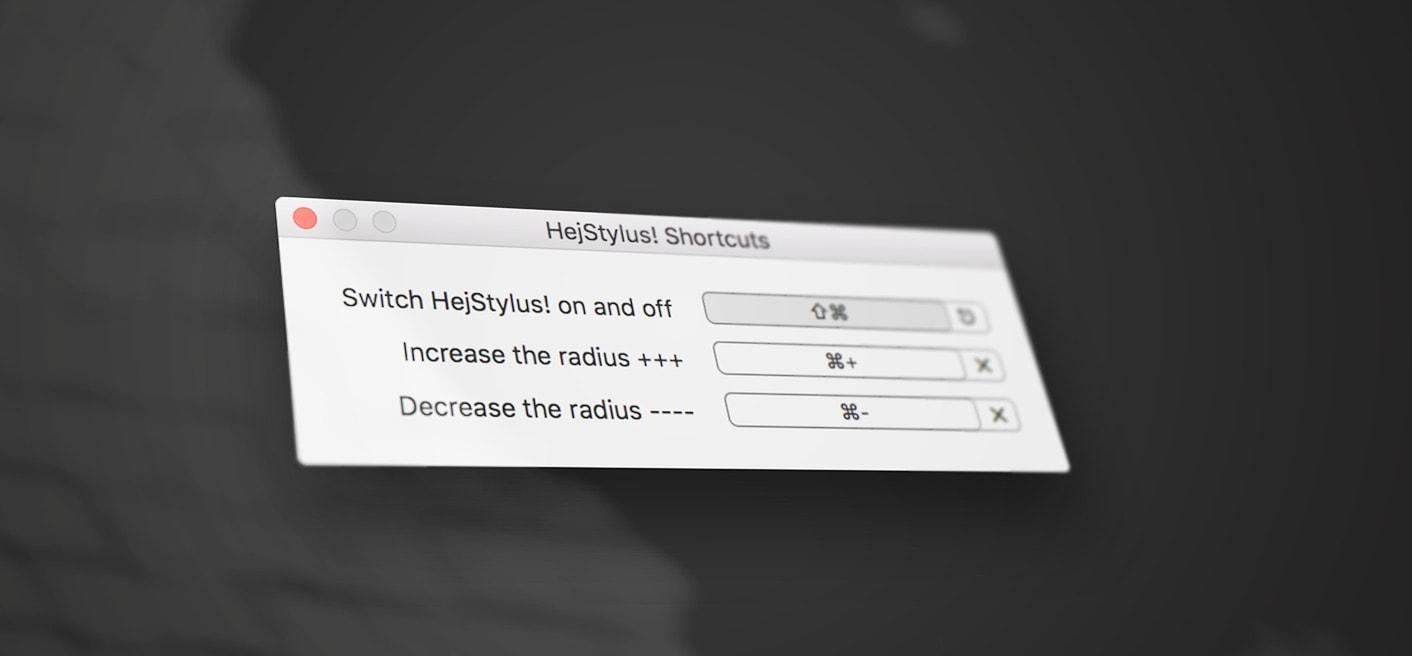 Hej Stylus Screenshot
