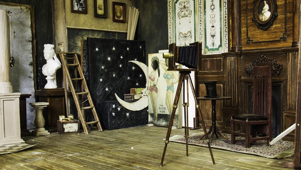 Ali Alamedy Miniatur-Fotostudio