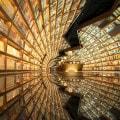 Surreales Büchergeschäft in China