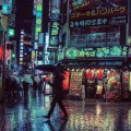 Liam Wong Neon Nightlife