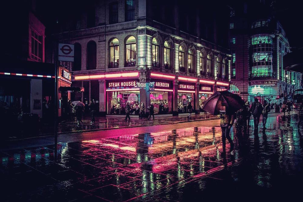 Liam Wong Neon Nightlife