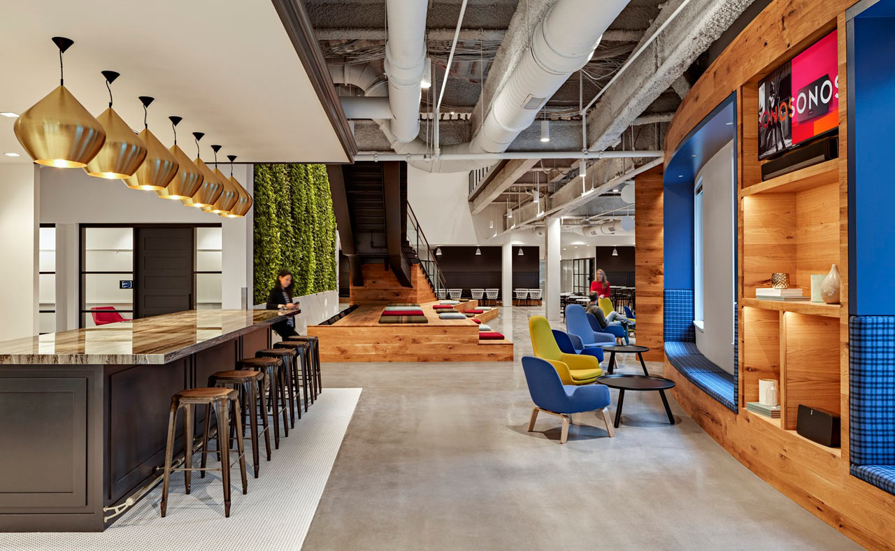 SONOS Boston Office Design