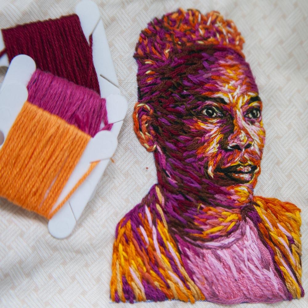Danielle Clough Stick-Portraits