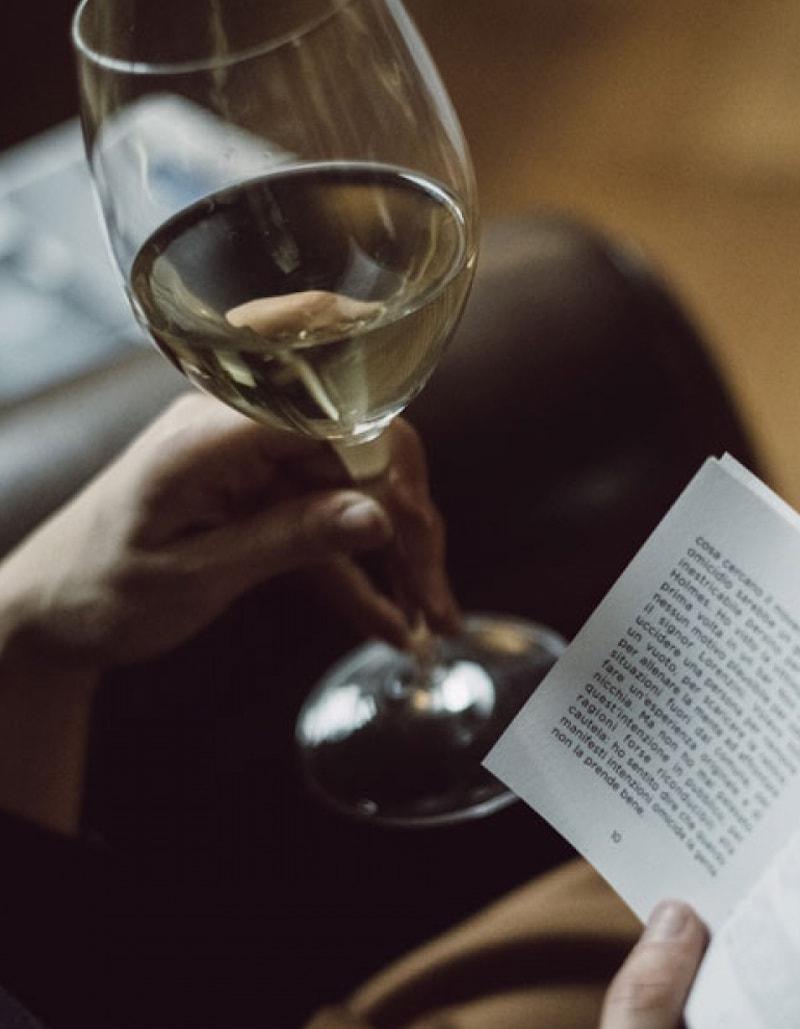 Italienischer Wein und Kurzgeschichten