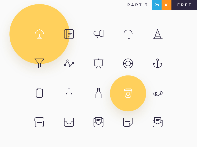 Davi kostenloses Icon Set