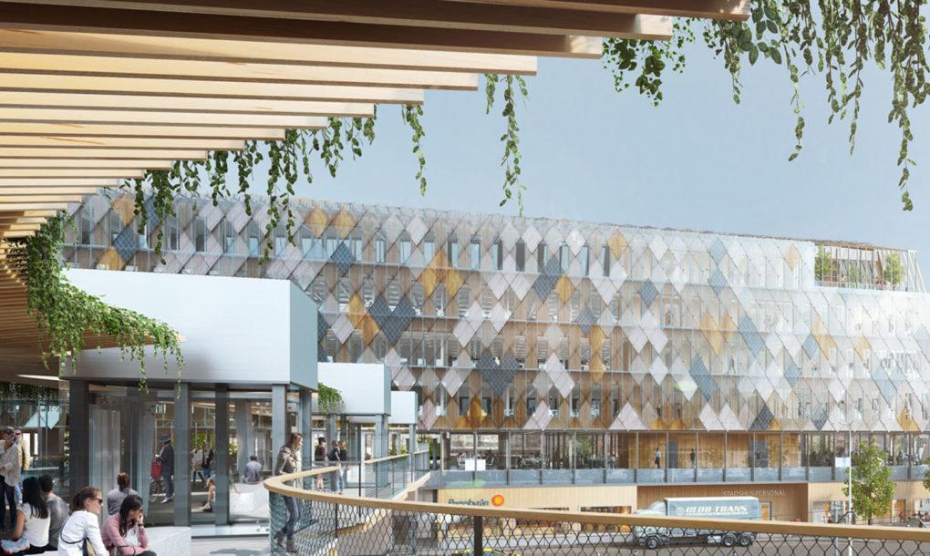 Växjö Bahnhof und Rathaus von White Arkitekter