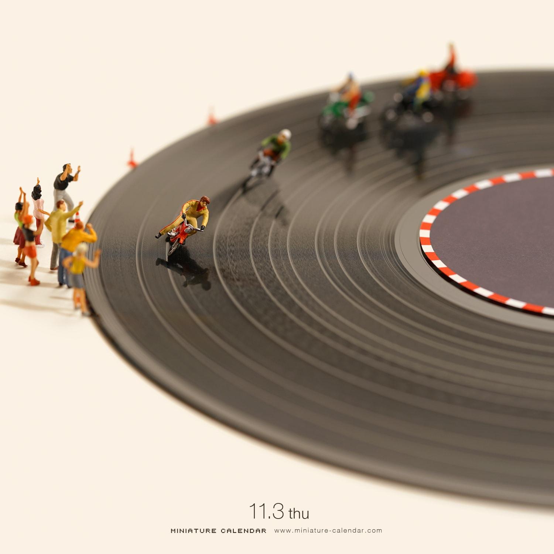 Tatsuya Tanaka Miniaturenkalender