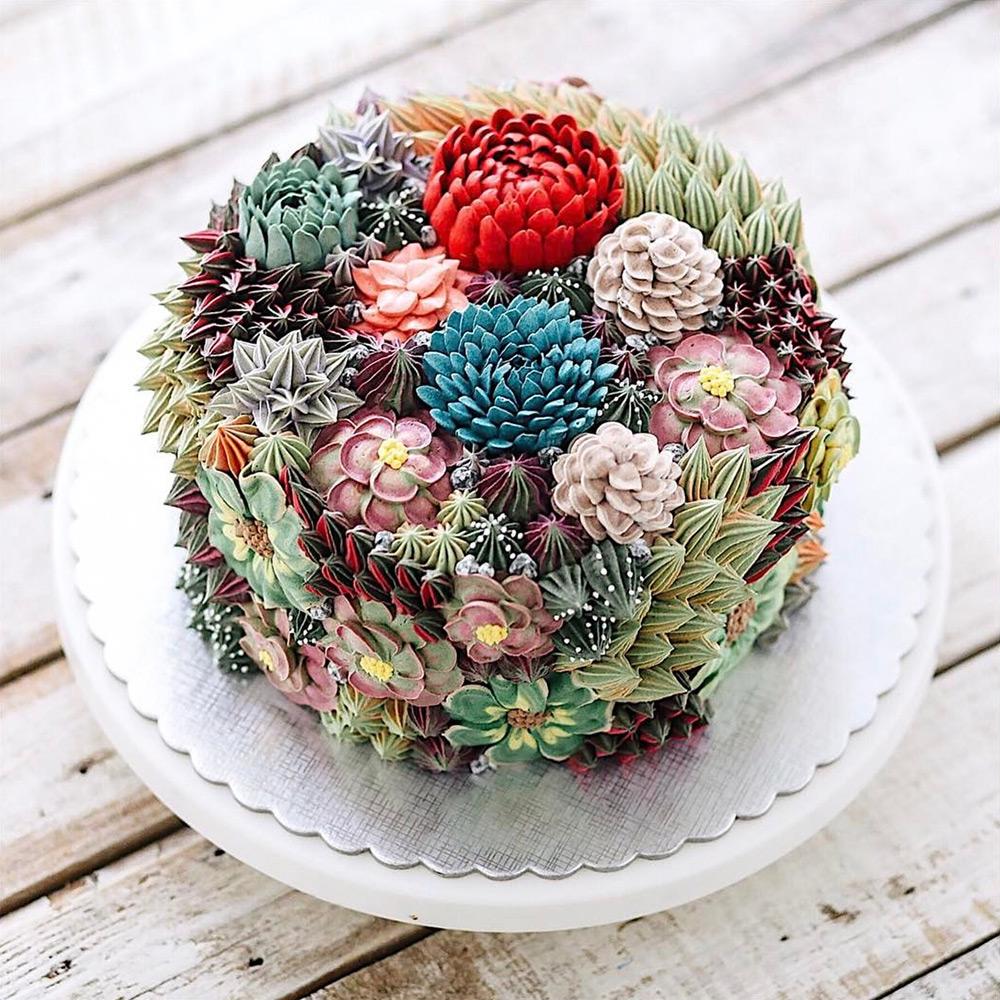 Iven Kawi künstlerisch gestaltete Torten