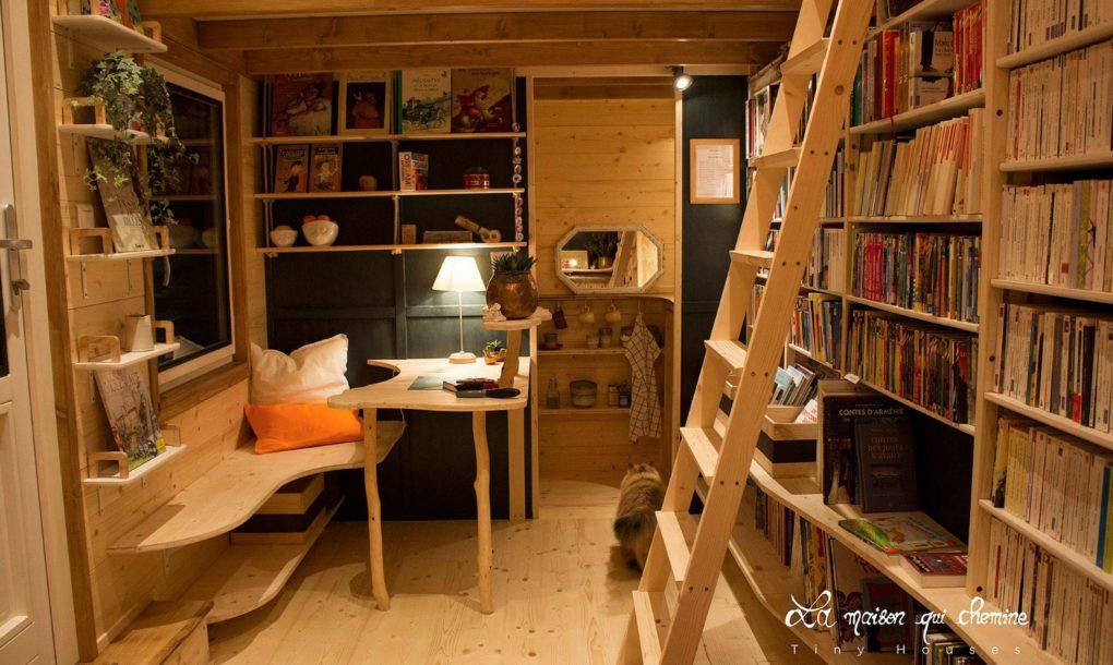 Mobiler Buchladen Frankreich