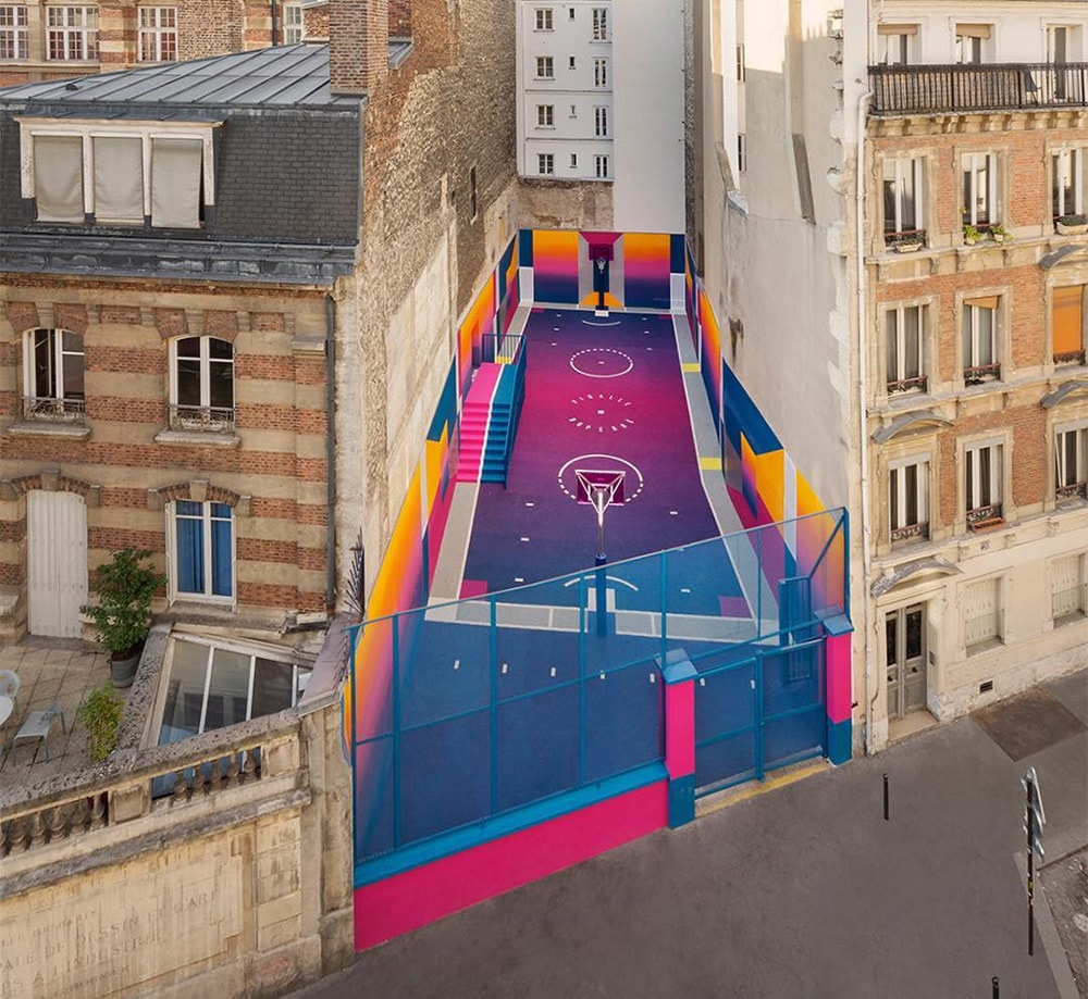 Bsketballplatz Paris