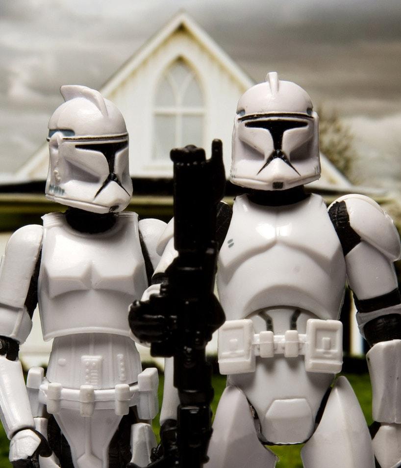 David Eger Star Wars Recreations