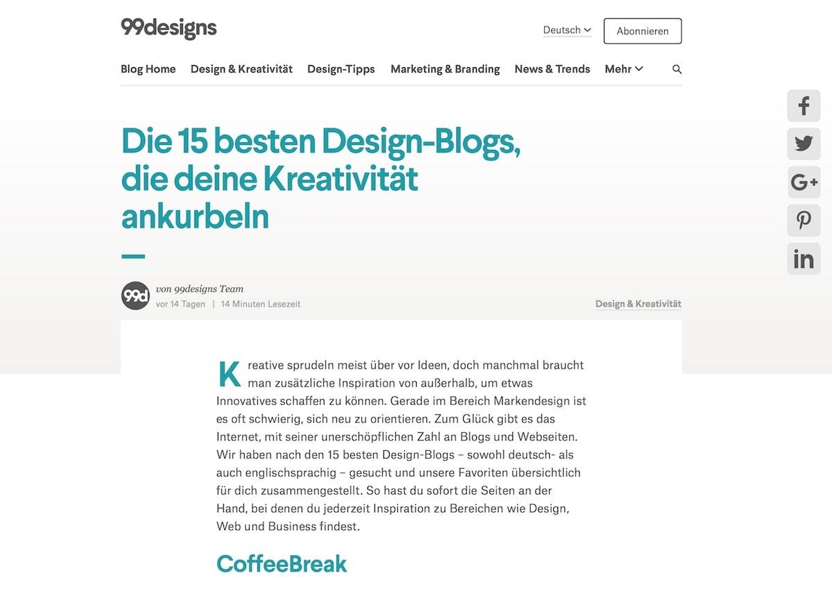 die 15 besten design blogs