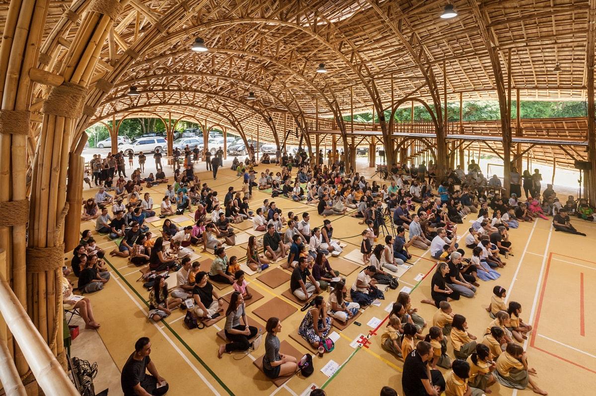 Architektur aus Bambus