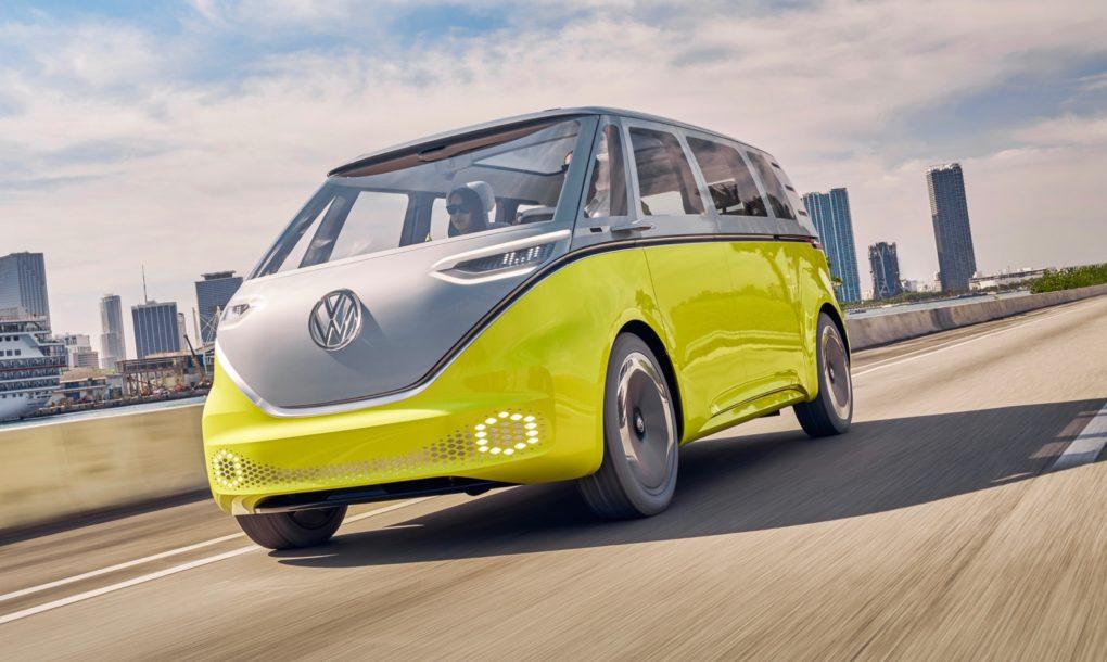 VW Bulli I.D. Buzz Konzept
