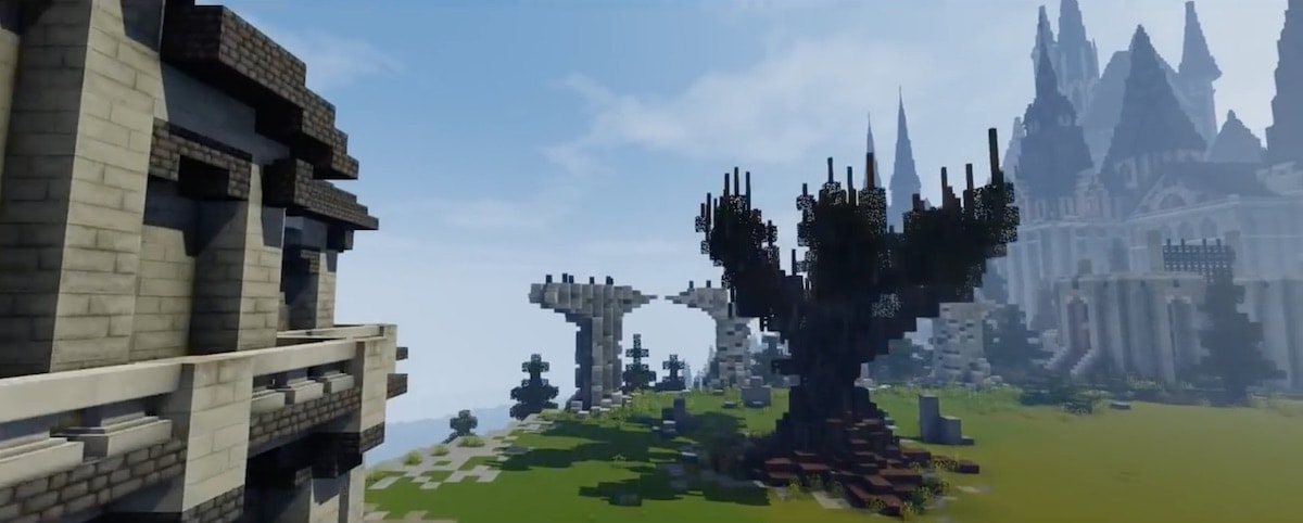 Minecraft Hogwarts by Floo Network