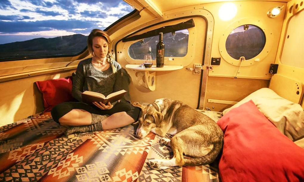Vistabule Solar Camper Design