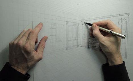 Jim Dove Perspektivisches Zeichnen