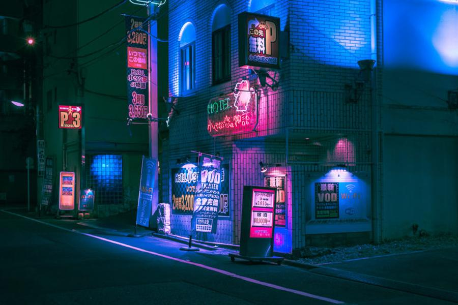 Matthieu Bühler Neon Dreams