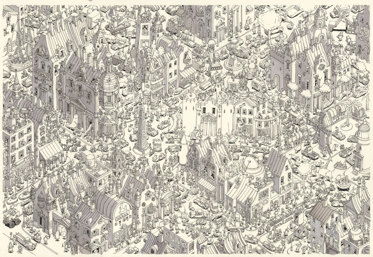 Illustrationen von Mattias Adolfsson